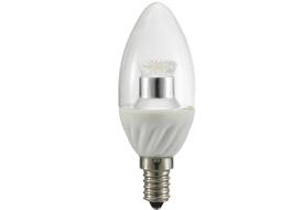 Lampadina LED 4W - vetro chiaro